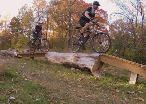 Michael Guinee on skinny at Carver Lake Park