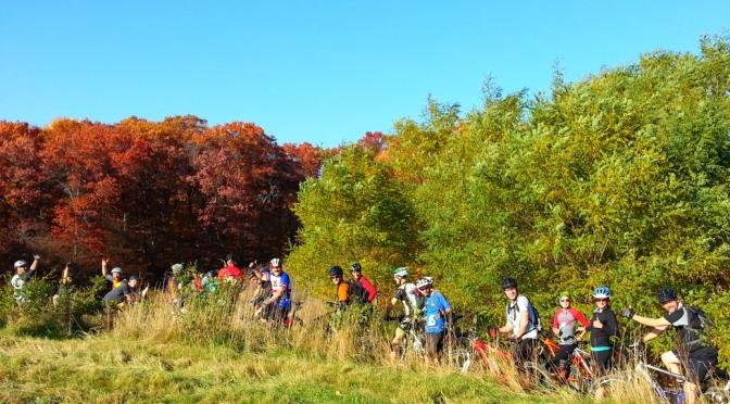 Woolly Bike Club - Erratic Rock Trail group ride