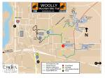 Woolly Mountain Bike Trail map - fall 2014