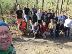 Steve Boyd and Theo Trail Crew