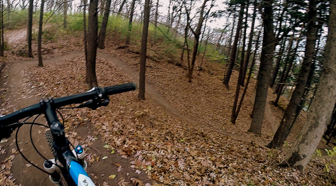 Theo's new South Wirth flow trail: best in the Twin Cities Metro