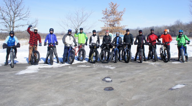 Photo album: CROCT group ride on doubletrack at the River Bend Nature Center