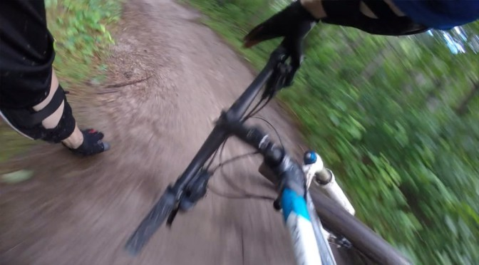 Learning to reduce the impact of some mountain bike crashes, Part 1: sliding out sideways