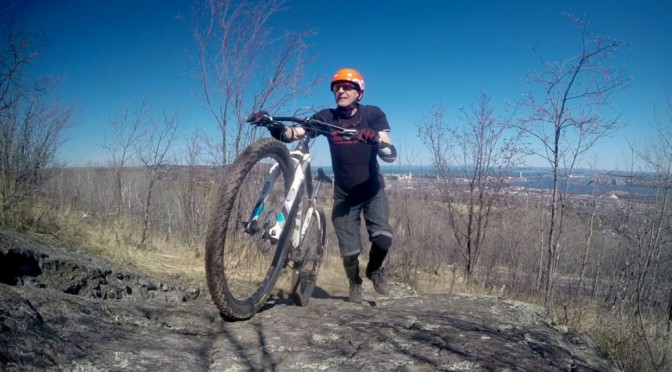 COGGS rocks! Photos & video of some X sections of the Piedmont trail in Duluth