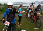 That's me, #49, Duluth Enduro Series, Piedmont Overlook; Caleb Wendel on the far right