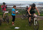 Far left: Daniel Cosgrove; far right: Adam Sundberg. Duluth Enduro Series, Piedmont Overlook