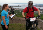 Amanda Brennan and Carl Paulson; Duluth Enduro Series, Piedmont Overlook