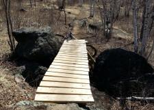 Dr. Diablo segment, COGGS Piedmont MTB trail, Duluth