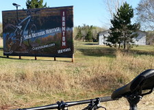 Cuyuna Lakes MTB billboard