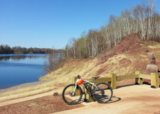 Cuyuna Lakes MTB trail head