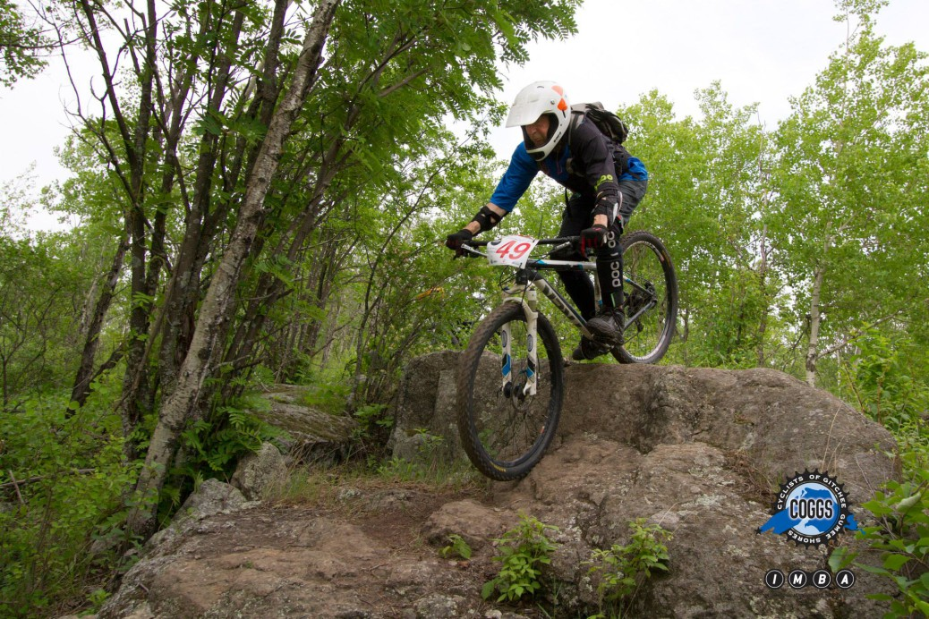 Griff Wigley, Duluth Enduro Series 1, photo 1 by Pete Stone