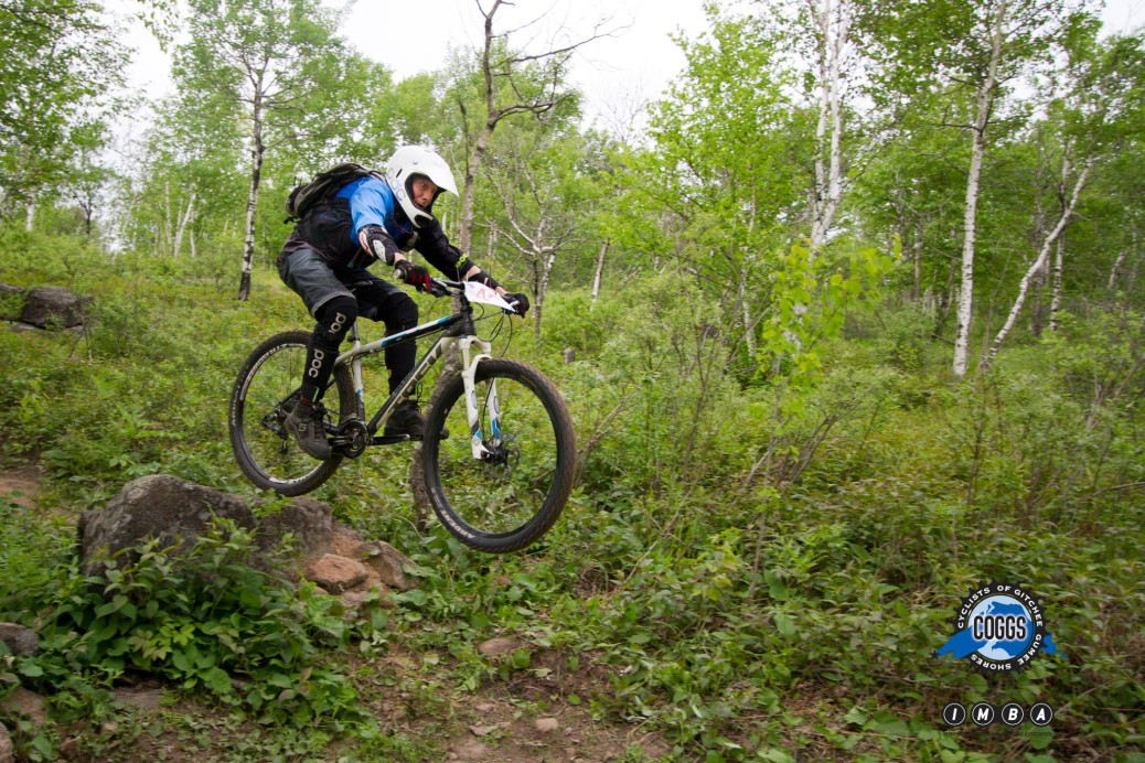 Griff Wigley, Duluth Enduro Series 1, photo 2 by Pete Stone