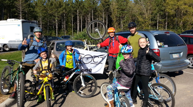CROCT photos & video: Take a Kid Mountain Biking Day, 2015