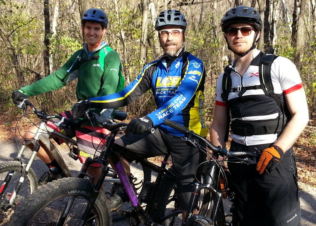 L to R, Paul Hogan, Troy Sierakowski, and Bradley Cyr