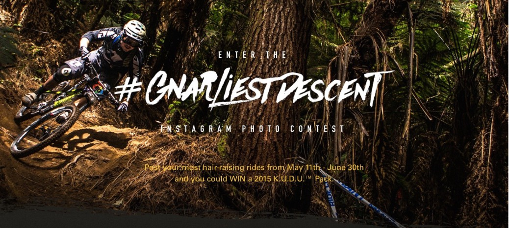 Camelbak gnarliest descent contest 2015