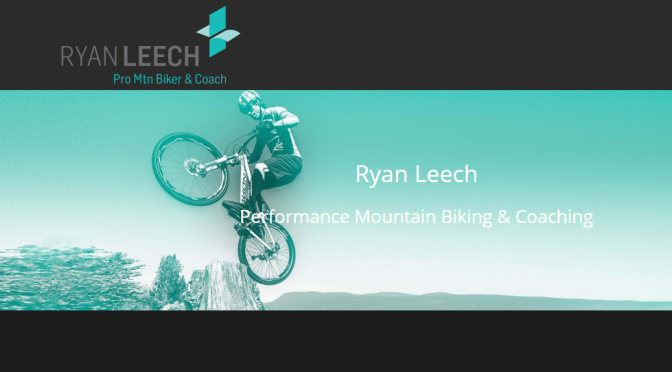 Mountain Bike Geezer teams up with Ryan Leech, pro mountain biker & coach