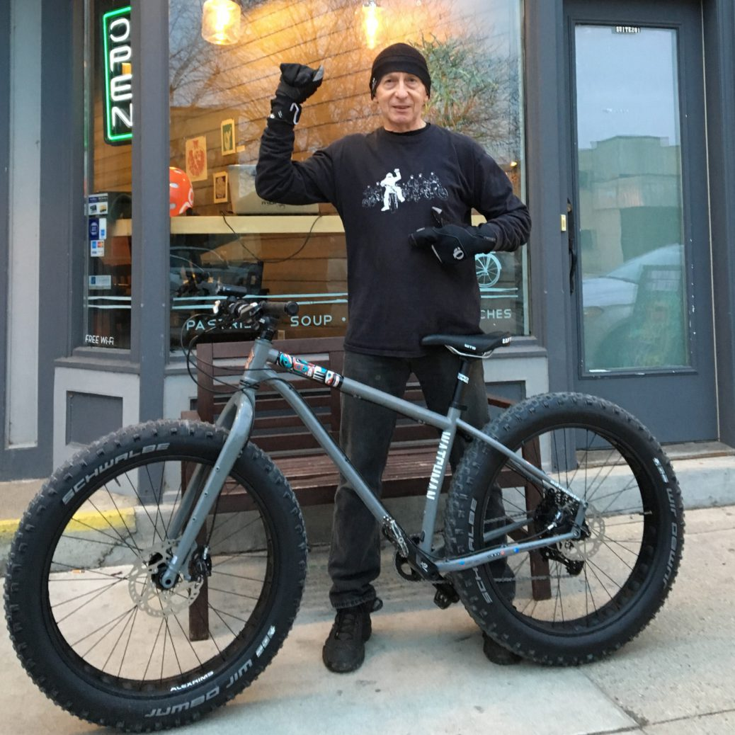 Griff Wigley - Advocate Cycles - The Watchman