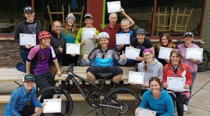I'm now a PMBI Level 1 MTB instructor