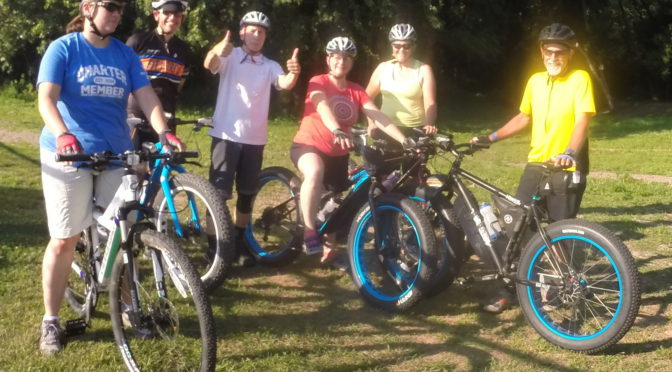 Scenes from my first mtb skills clinic for adults