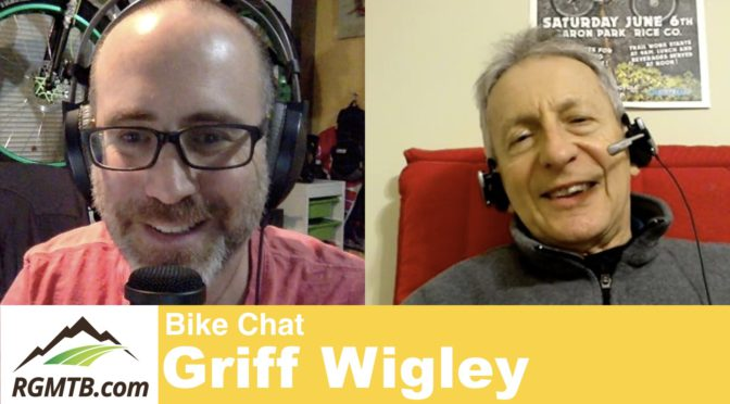 Video: Interviewed by Gene Arnold, founder of Regular Guy Mountain Biking & host of the Bike Chat show on YouTube